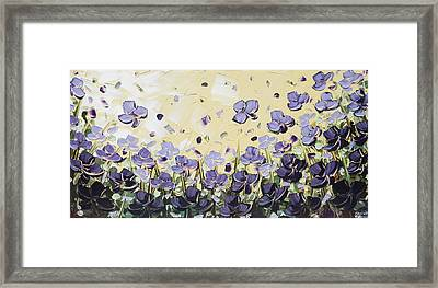 Serenity Framed Print by Christine Krainock