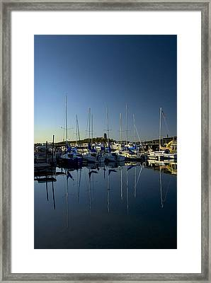 Serenity Framed Print by Cindy Rubin