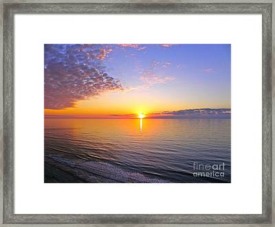 Framed Print featuring the photograph Serenity by Eve Spring