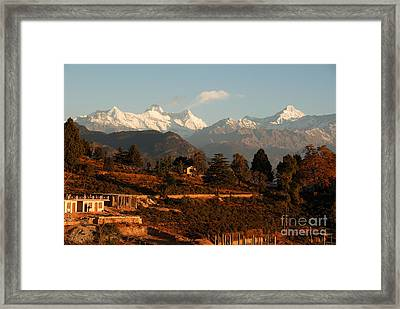 Framed Print featuring the photograph Serenity by Fotosas Photography