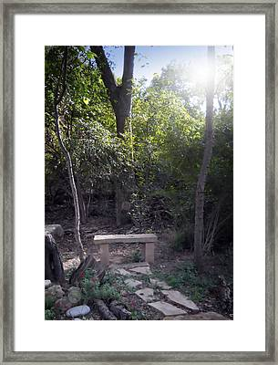 Framed Print featuring the photograph Serenity  by Lynnette Johns