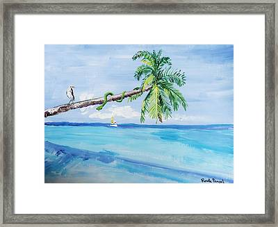 Serenity Framed Print by Renate Pampel