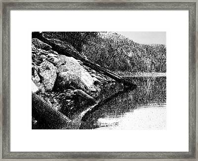 Serenity Framed Print by Robbi  Musser