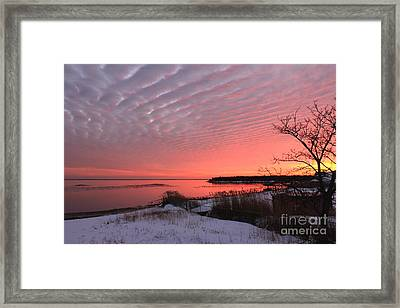 Serenity Framed Print by Scenesational Photos