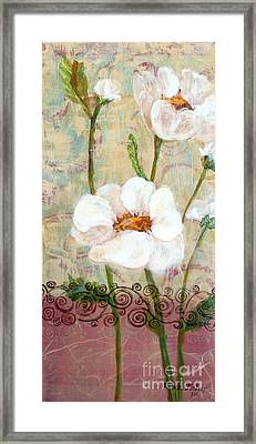 Framed Print featuring the painting Serenity by Susan Fisher