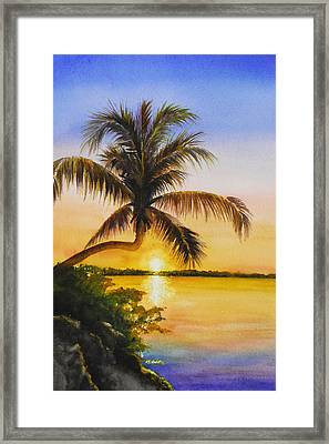 Serenity Framed Print by Terry Arroyo Mulrooney