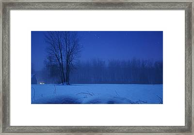 Serenity Framed Print by Tristan Bosworth