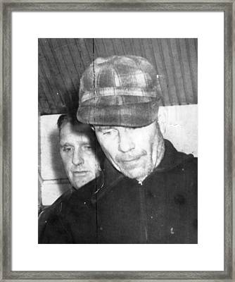 Serial Killer Ed Gein, Plainfeld Framed Print by Everett