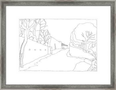 Serignac 15 Framed Print