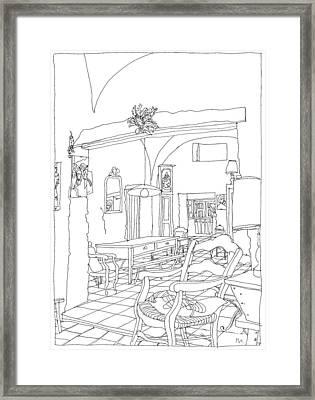 Serignac 3 Framed Print by Leonid Petrushin