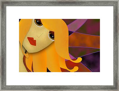 Seriously- Do I Look Like I Care? Framed Print by Melisa Meyers