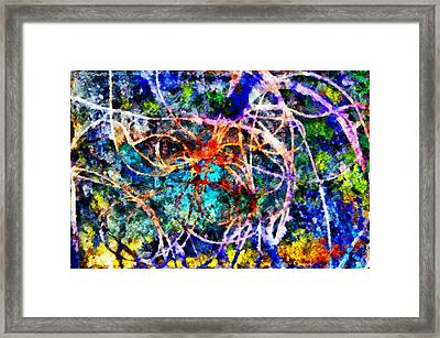 Serpentine Framed Print by Angelina Vick