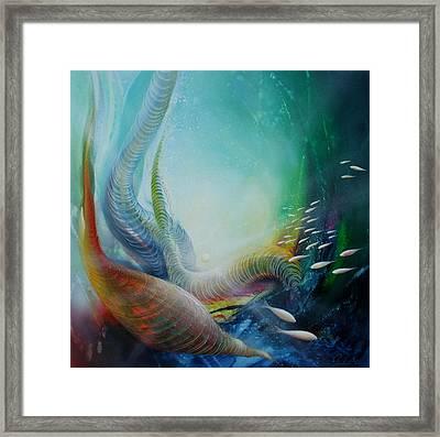 Serpula Spiralis Framed Print by Drazen Pavlovic