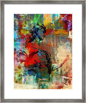 Servant Of God Not Of Mankind Framed Print by Fania Simon