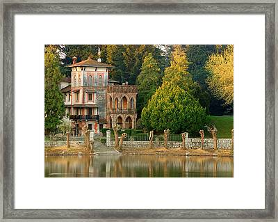 Sesto Mansion Framed Print by Fabio Montalto