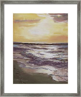Sesuit Sunset Framed Print by Jack Skinner