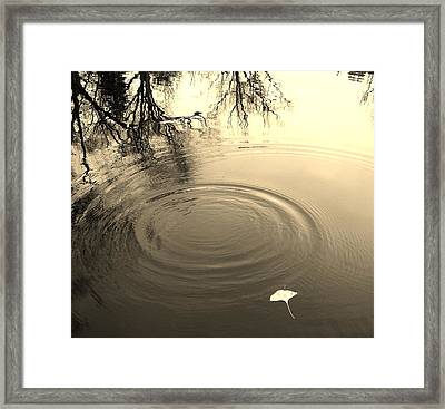Set The Tone Framed Print