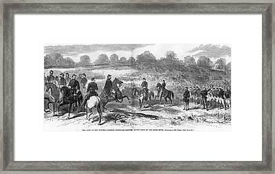 Seven Days Battles, 1862 Framed Print by Granger