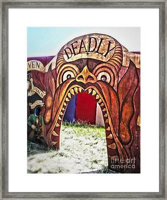 Seven Deadly Sins - Devil Framed Print by Gregory Dyer