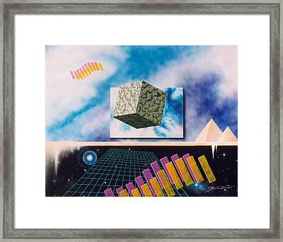 Seven Dimensions Framed Print