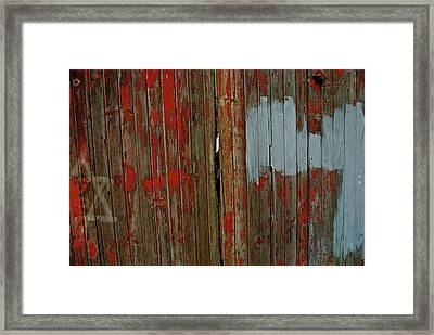 Seven Framed Print by Thomas Brown