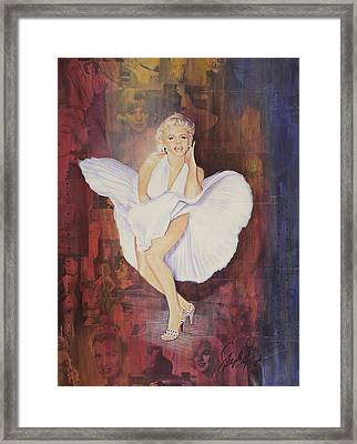 Seven Year Itch Framed Print by Stapler-Kozek