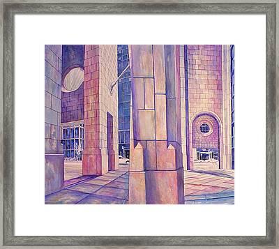 Seventh In Att Series Framed Print