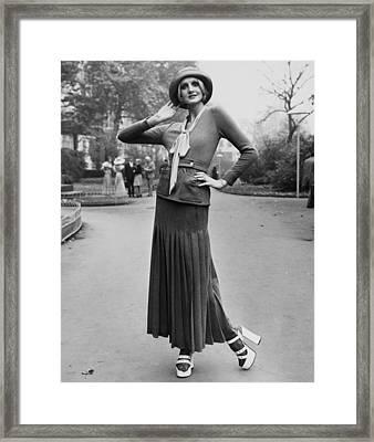 Seventies Fashion Framed Print