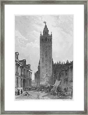 Seville: The Giralda Framed Print by Granger