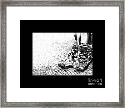 Sew On And So Forth Framed Print by Nancy Greenland