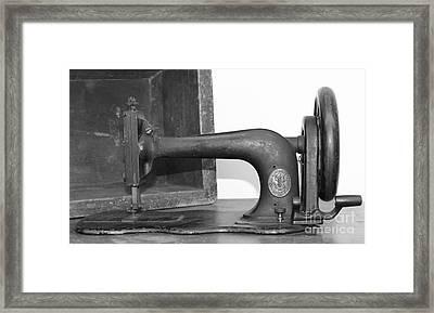 Sewing Machine Framed Print by Pamela Walrath