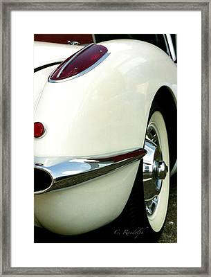 Framed Print featuring the photograph Sex On Wheels by Cheri Randolph