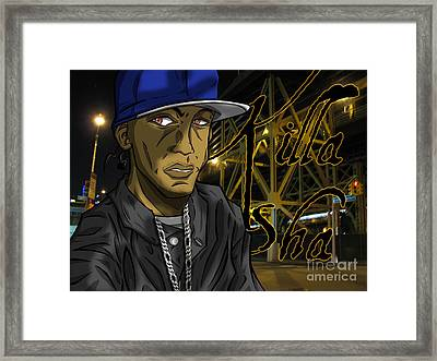 Sha Lumi The Great Framed Print