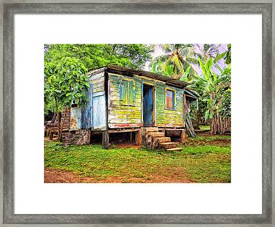 Shabby Chic Framed Print by Dominic Piperata