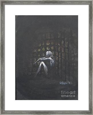 Shackled Framed Print