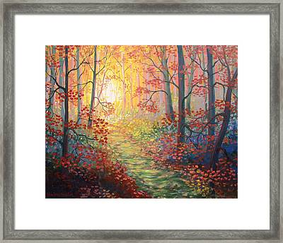 Shades Of A Dream Framed Print by Sharon Marcella Marston