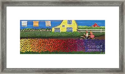 Shades Of All Framed Print