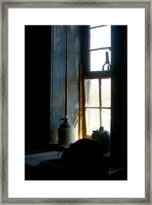 Framed Print featuring the photograph Shades Of Blue by Vicki Pelham