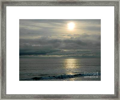 Framed Print featuring the photograph Shades Of Gray by Everette McMahan jr