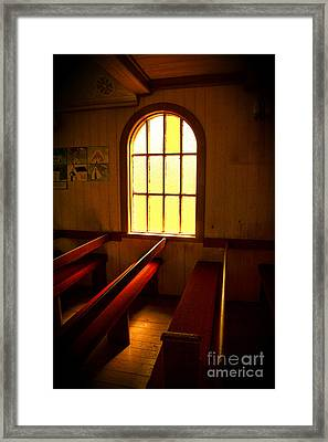 Shades Of Light Framed Print