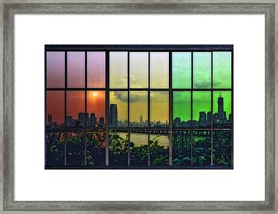 Shades Of New York Framed Print by Tom York Images