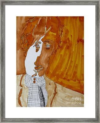 Shades Of Paul Framed Print by Stephanie Ward