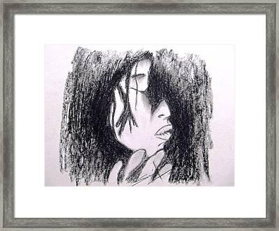 Shades... Framed Print