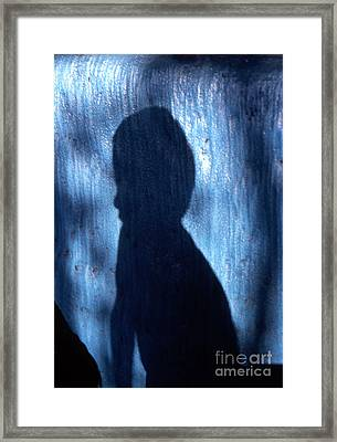 Shadow Framed Print by Barry Shaffer