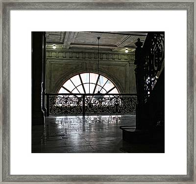 Shadow Box Framed Print by Peter Chilelli