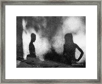 Shadow Conspiracy Framed Print