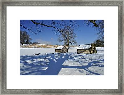 Shadow In The  Valley Forge Framed Print by Gaetano Chieffo