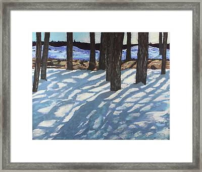 Shadow Lights Framed Print