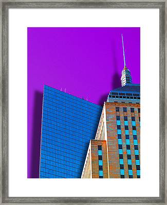 Shadow Of The City Framed Print by Paul Wear