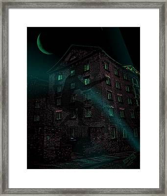 Shadow On The Wall Framed Print by Mimulux patricia no No